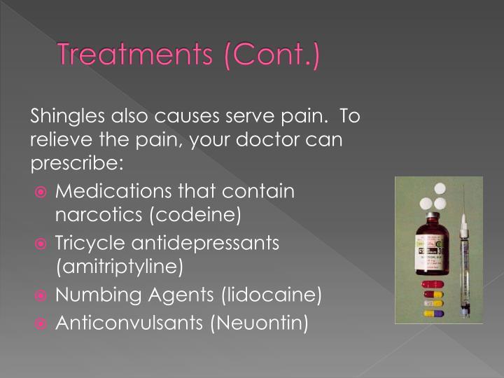Treatments (Cont.)
