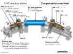 rhic electron lenses compensation overview1