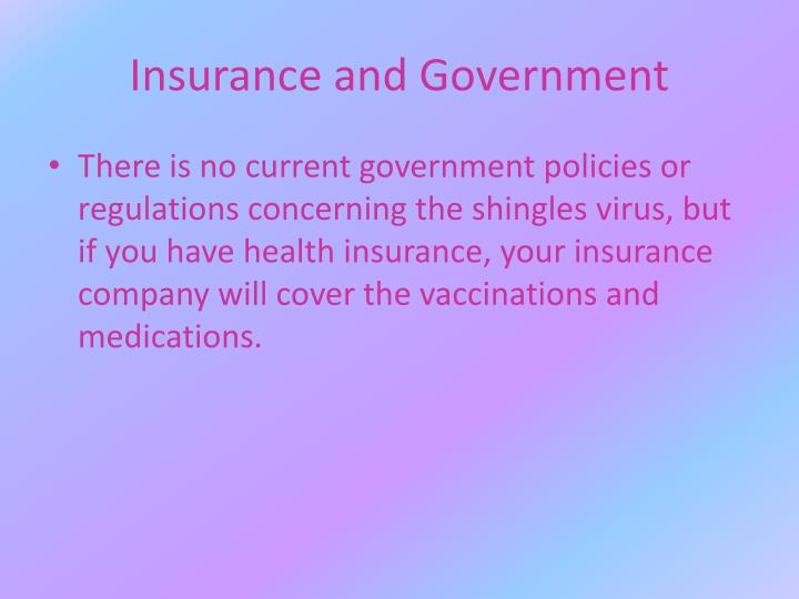 Insurance and Government