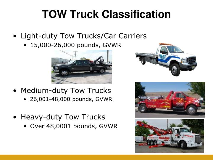 TOW Truck Classification