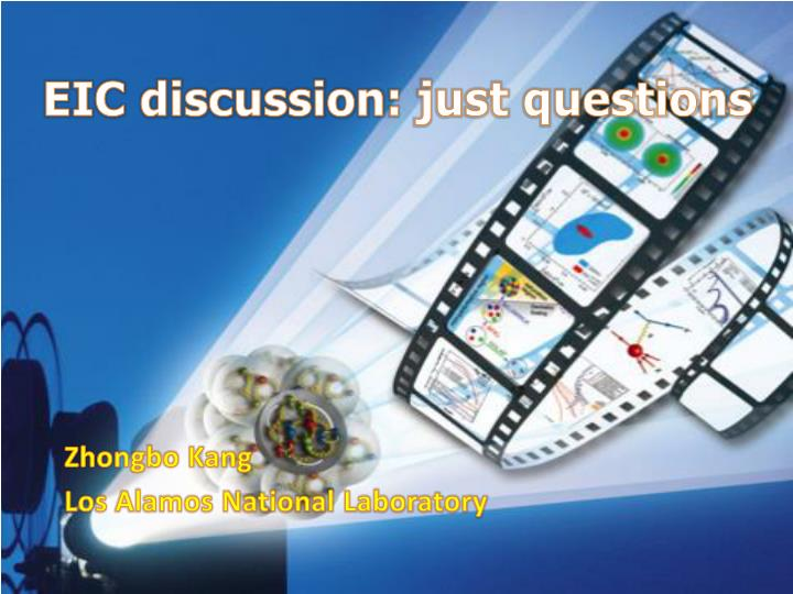eic discussion just questions n.