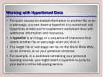 working with hyperlinked data