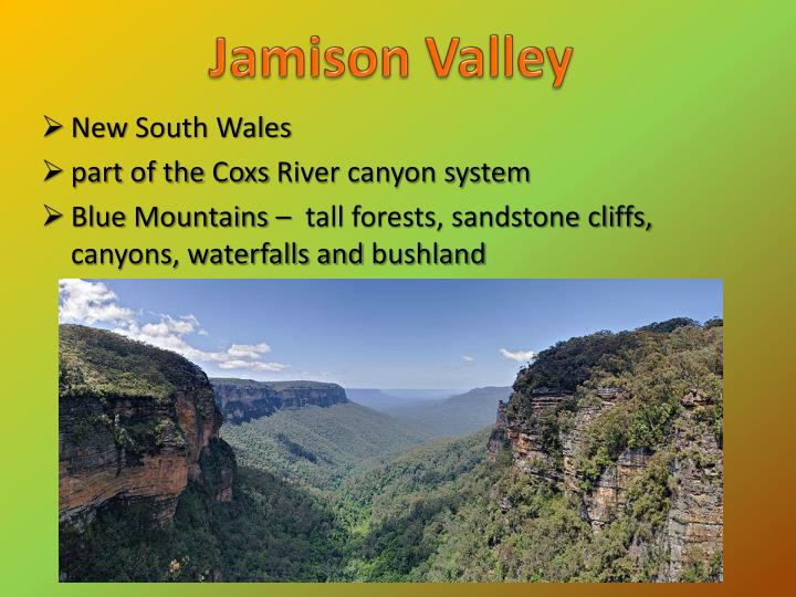 Jamison Valley