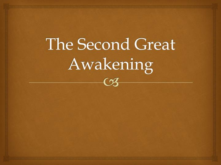 impacts of the great awakening Enlightenment, great awakening and the difference between enlightenment and great awakening are discussed in this article.