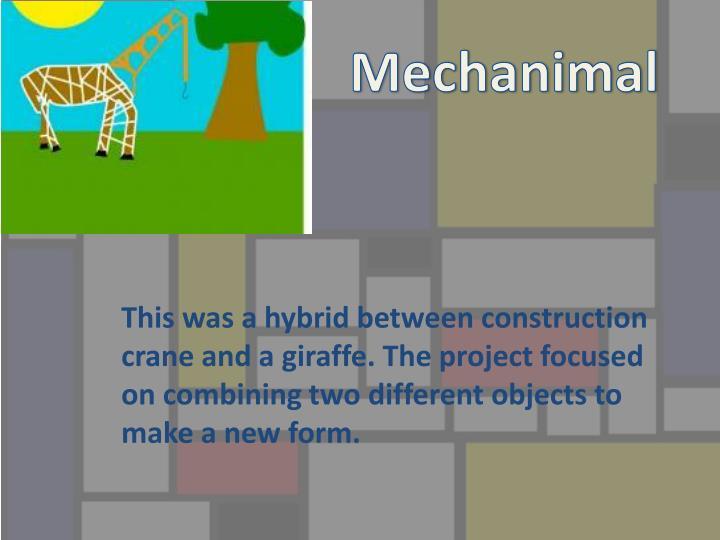 Mechanima