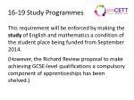 16 19 study programmes1