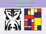 illustrator projects