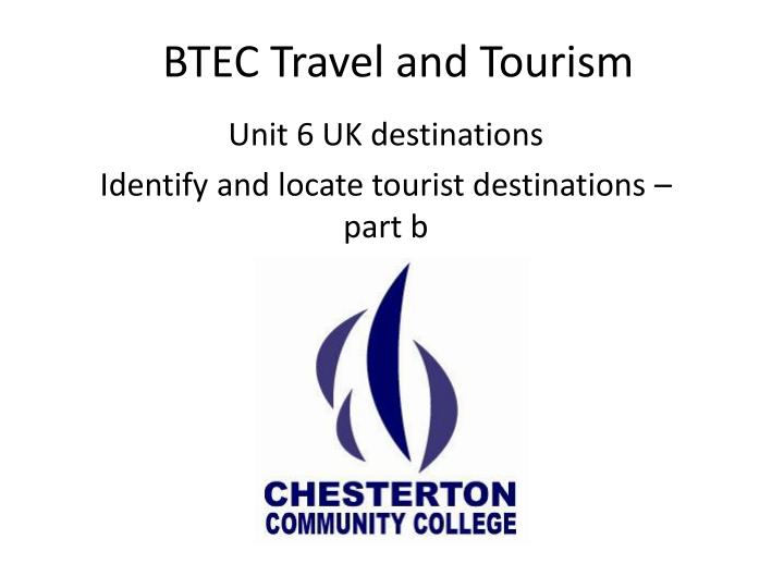 btec travel and tourism n.