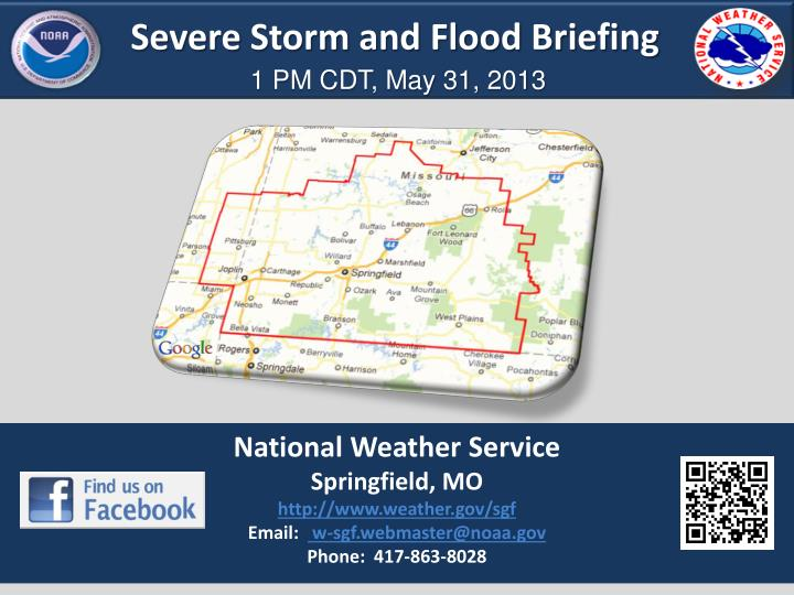 Severe Storm and Flood