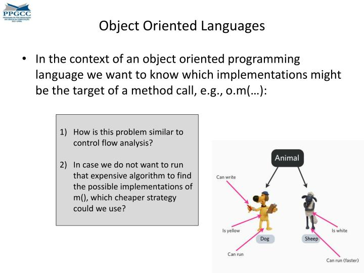Object Oriented Languages