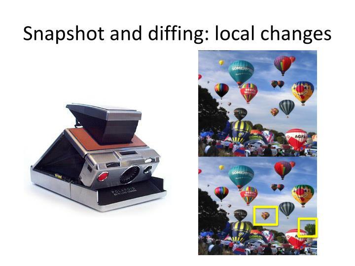 Snapshot and
