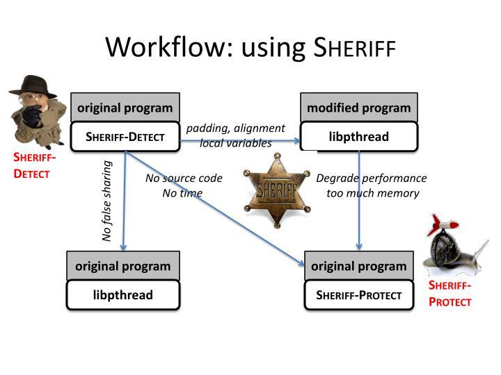 Workflow: using
