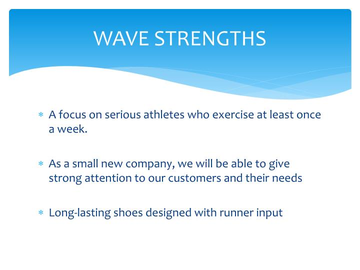 Wave strengths
