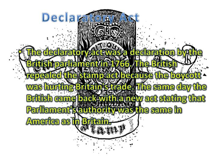 Declaratory Act