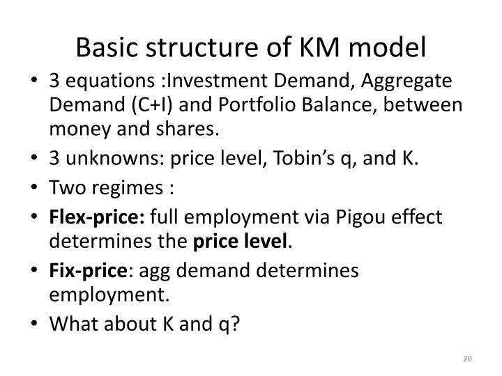 Basic structure of KM model