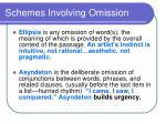 schemes involving omission