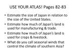 use your atlas pages 82 83