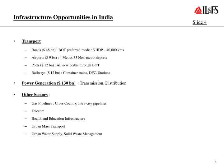 Infrastructure Opportunities