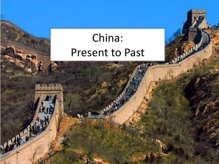 china present to past n.