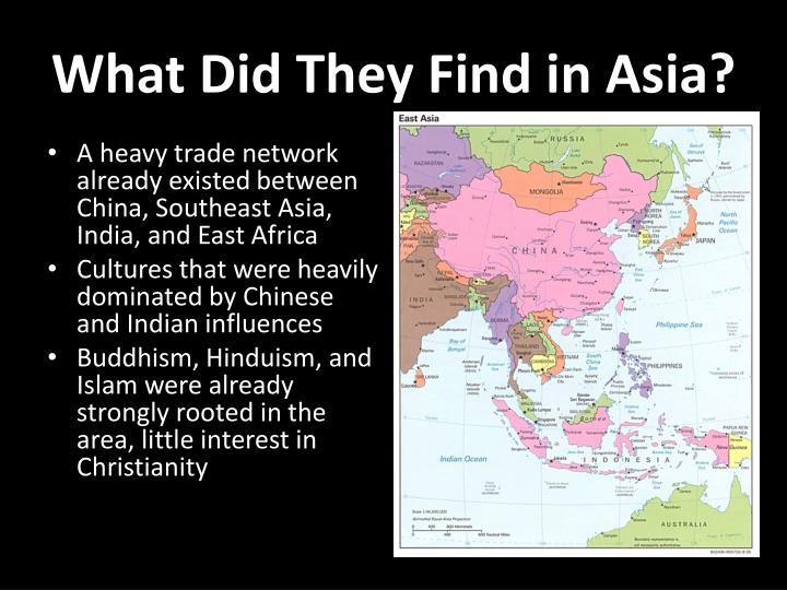 What Did They Find in Asia?