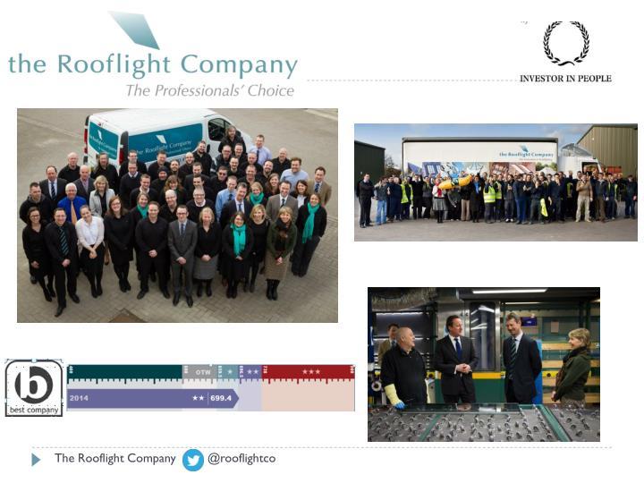The Rooflight Company        @