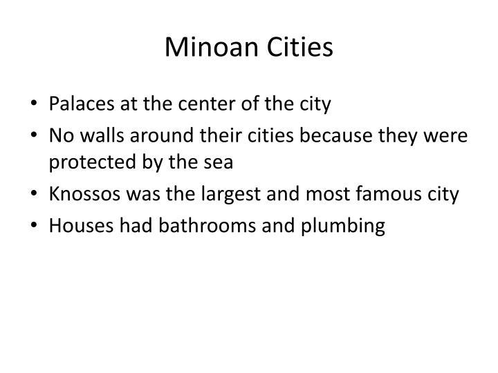 Minoan Cities