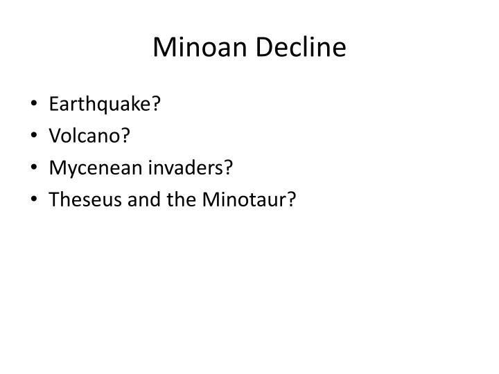 Minoan Decline