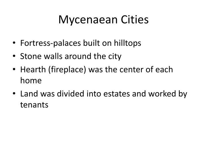 Mycenaean Cities