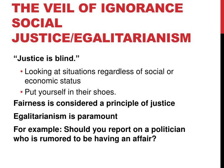 The Veil Of Ignorance