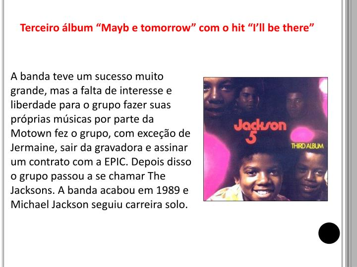"Terceiro álbum """
