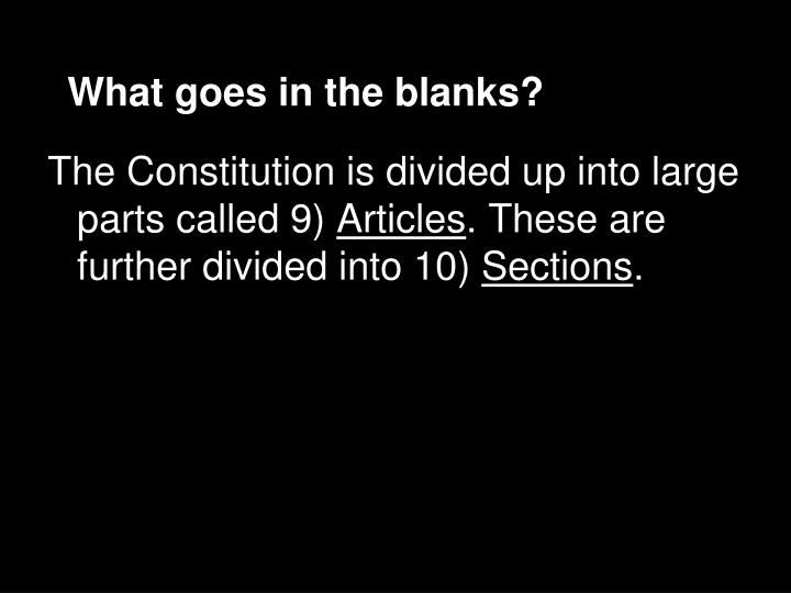 What goes in the blanks?