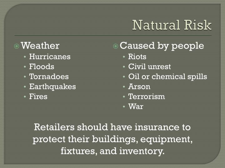 Natural Risk