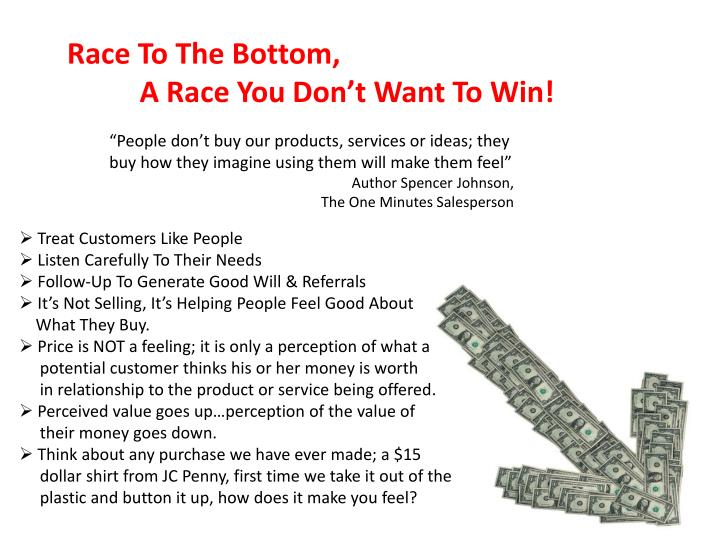 Race To The Bottom,
