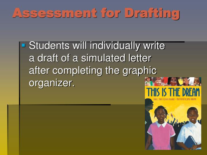 Assessment for Drafting