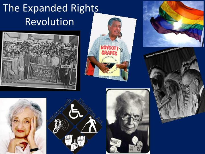 The expanded rights revolution