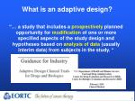 what is an adaptive design