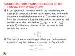 sequential term transition model sttm technical term difficulty 3 4