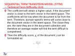 sequential term transition model sttm technical term difficulty 4 4