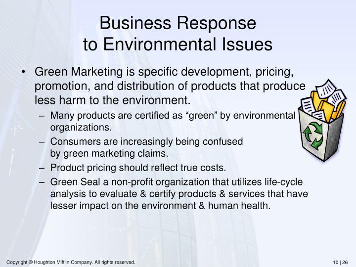 Business Response