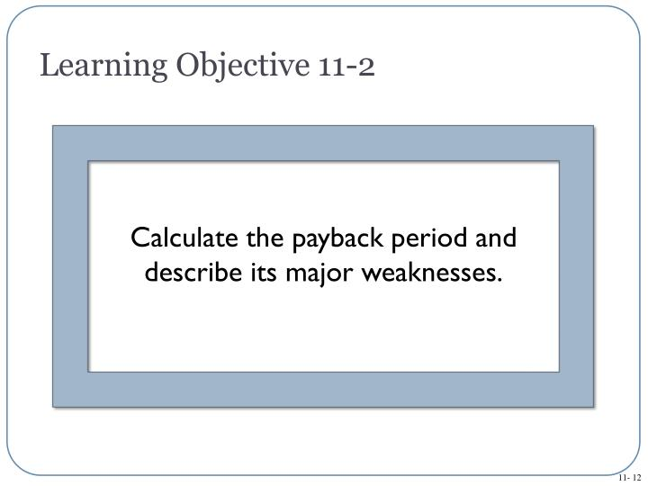 Learning Objective 11-2