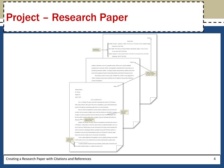 Project – Research Paper