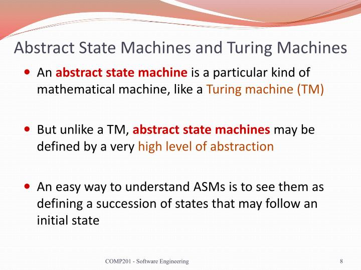 Abstract State Machines and Turing Machines