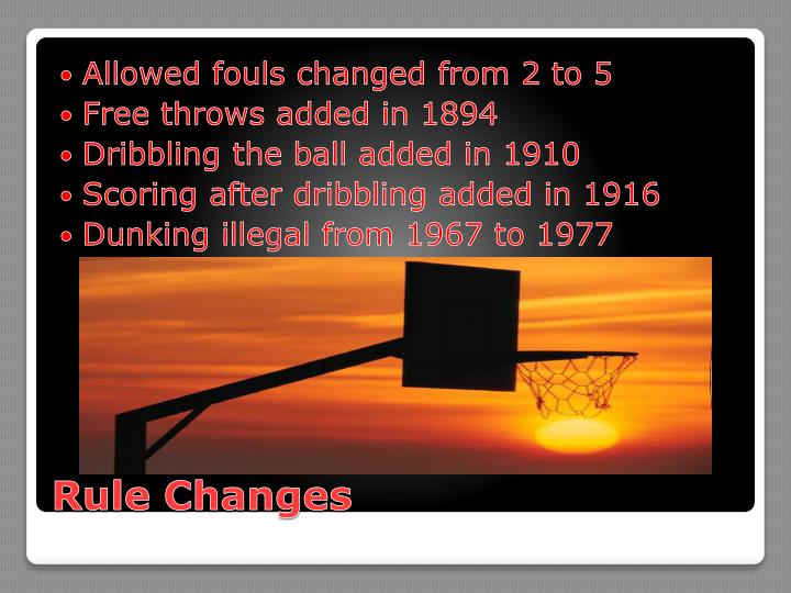 Allowed fouls changed from 2 to 5
