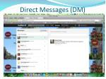direct messages dm