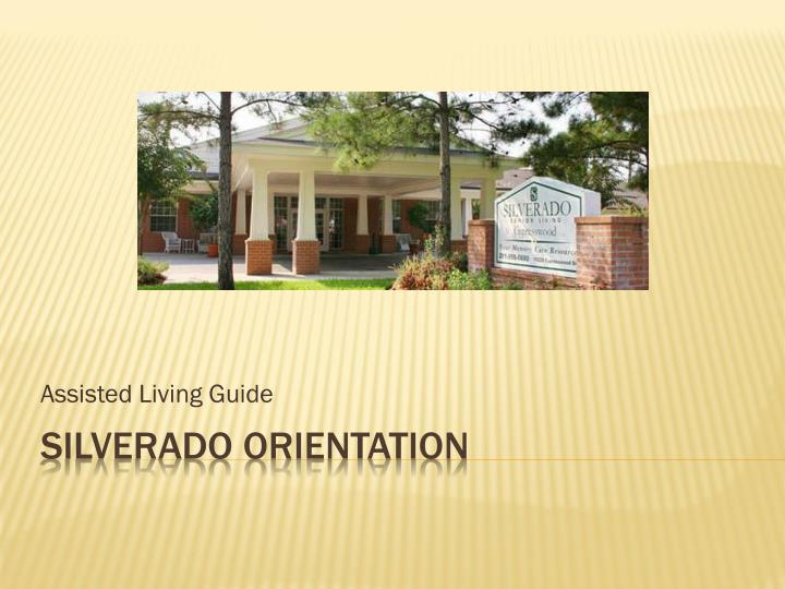 assisted living guide n.