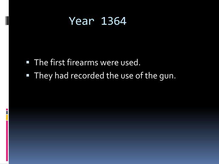 Year 1364