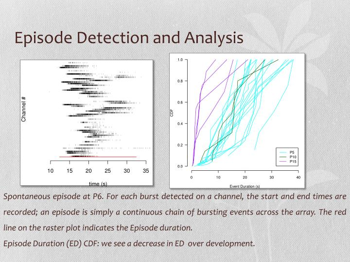 Episode Detection and Analysis