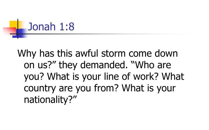 Jonah 1:8
