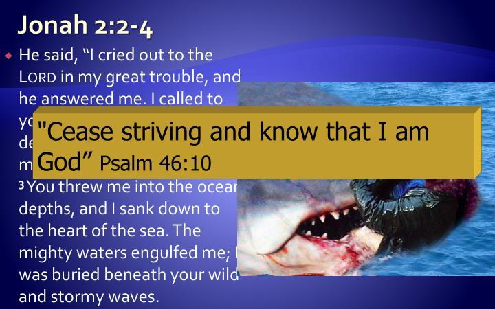 Jonah 2:2-4