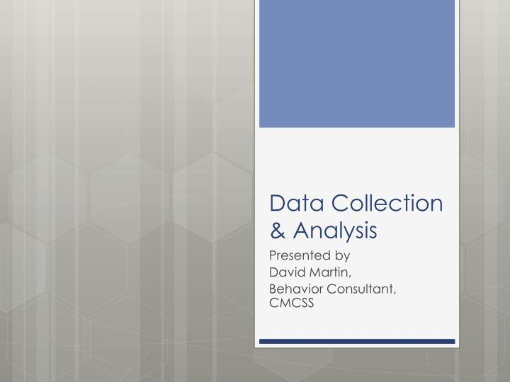 data collection analysis n.